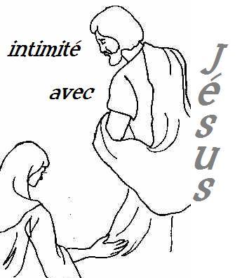 Intimité avec Jésus